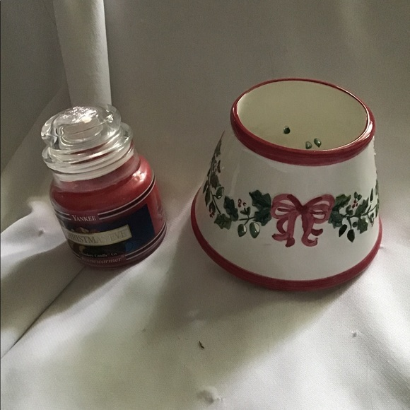 Yankee Candle Shade Topper Winter Christmas